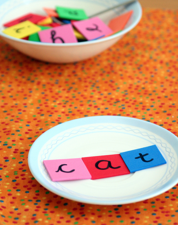 Kindergarten Reading & Writing Activities: Play with Words: A Pretend Bakery Game