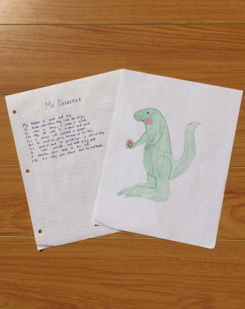 Fourth Grade Reading & Writing Activities: Write a Silly Dinosaur Poem