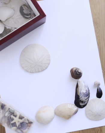 Second Grade Arts & crafts Activities: Beach Mosaic
