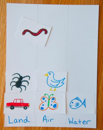 Preschool Offline Games Activities: Our Environment
