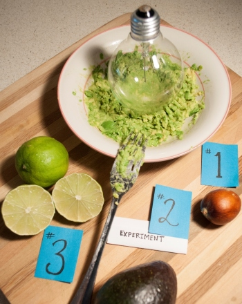 Kindergarten Science Science projects: Ew... Brown Guacamole!