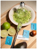 This science experiment tests why guacamole goes brown and if leaving the pit in will stop guacamole from turning brown.