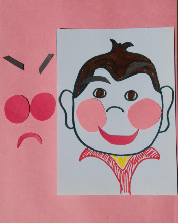 First Grade Arts & Crafts Activities: Emotion Faces