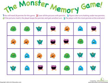 All Worksheets » Memory Worksheets - Printable Worksheets Guide ...