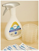 Determine whether the application of Febreeze will lower the bacterial count.