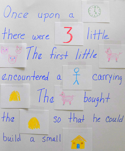 Second Grade Reading & Writing Activities: Fairy Tale Rebus