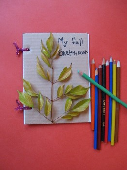 First Grade Holidays & Seasons Activities: Autumn Sketchbook