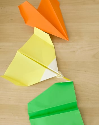 Third Grade Science Science projects: Paper Airplanes