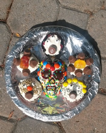 Fourth Grade Holidays Activities: Calaveras Mini-Cakes