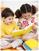 Learn the basics of early literacy to use on your young child, long before she's actually reading.