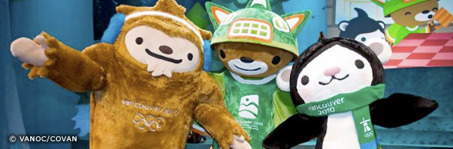 Meet the Mascots: Vancouver 2010 Winter Games