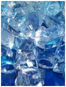 What keeps a an item cooler, polymer crystals or ice? Find out in this cool science experiment!