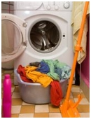 The project determines which laundry detergent is best for cleaning clothes.