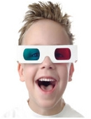 In this fun science fair project, draw a 3D picture and compare the holographic effects of red and blue 3D glasses and HD glasses!