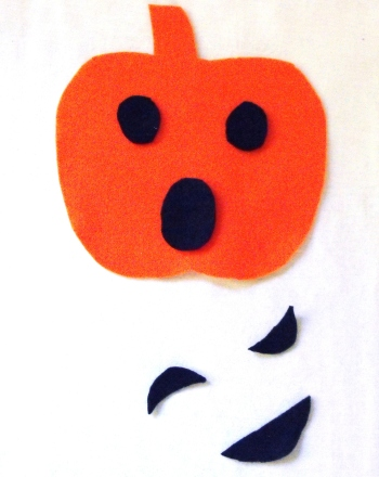 Preschool Holidays Activities: Felt Jack-o'-Lantern