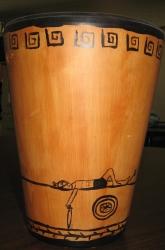 Greek-style vase