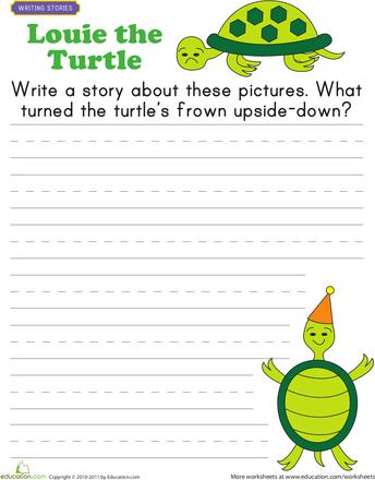 Writing Worksheets 1st Grade Photos - pigmu