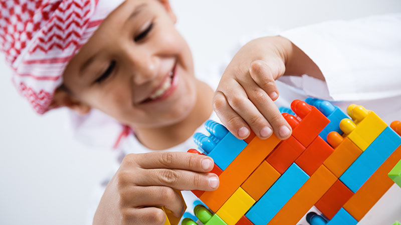 Create learning opportunities with open-ended play