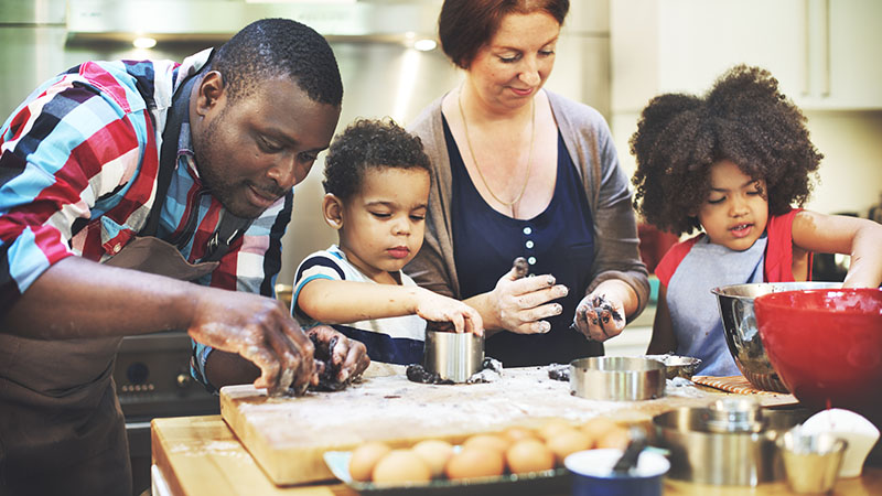healthy holiday treats to make with kids