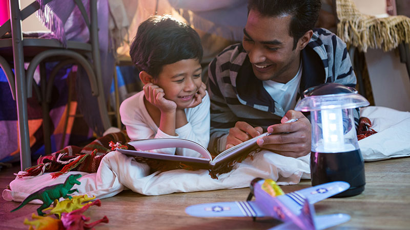 how to make the most of reading aloud with young children