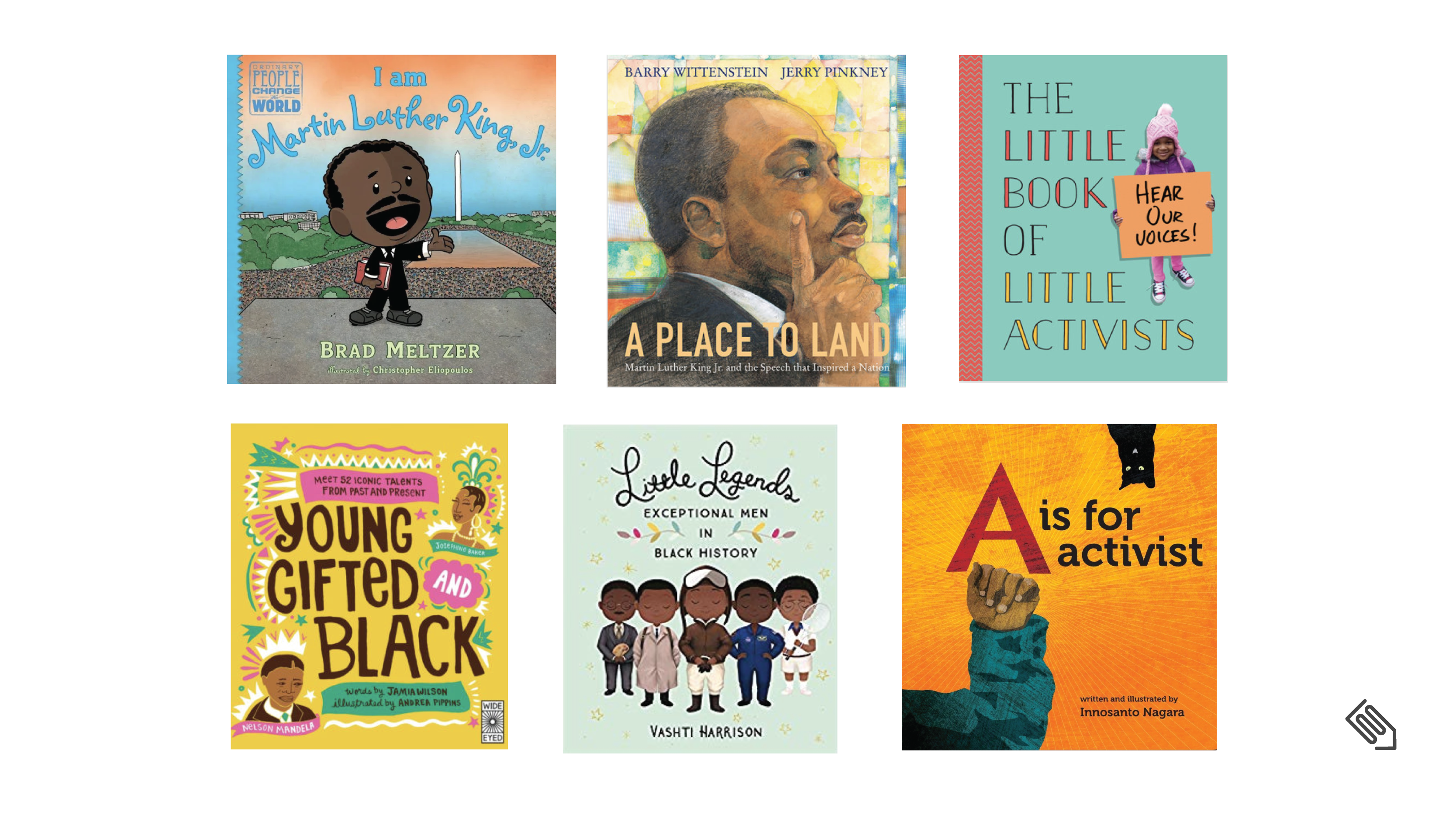 books to help children learn about Martin Luther King, Jr.