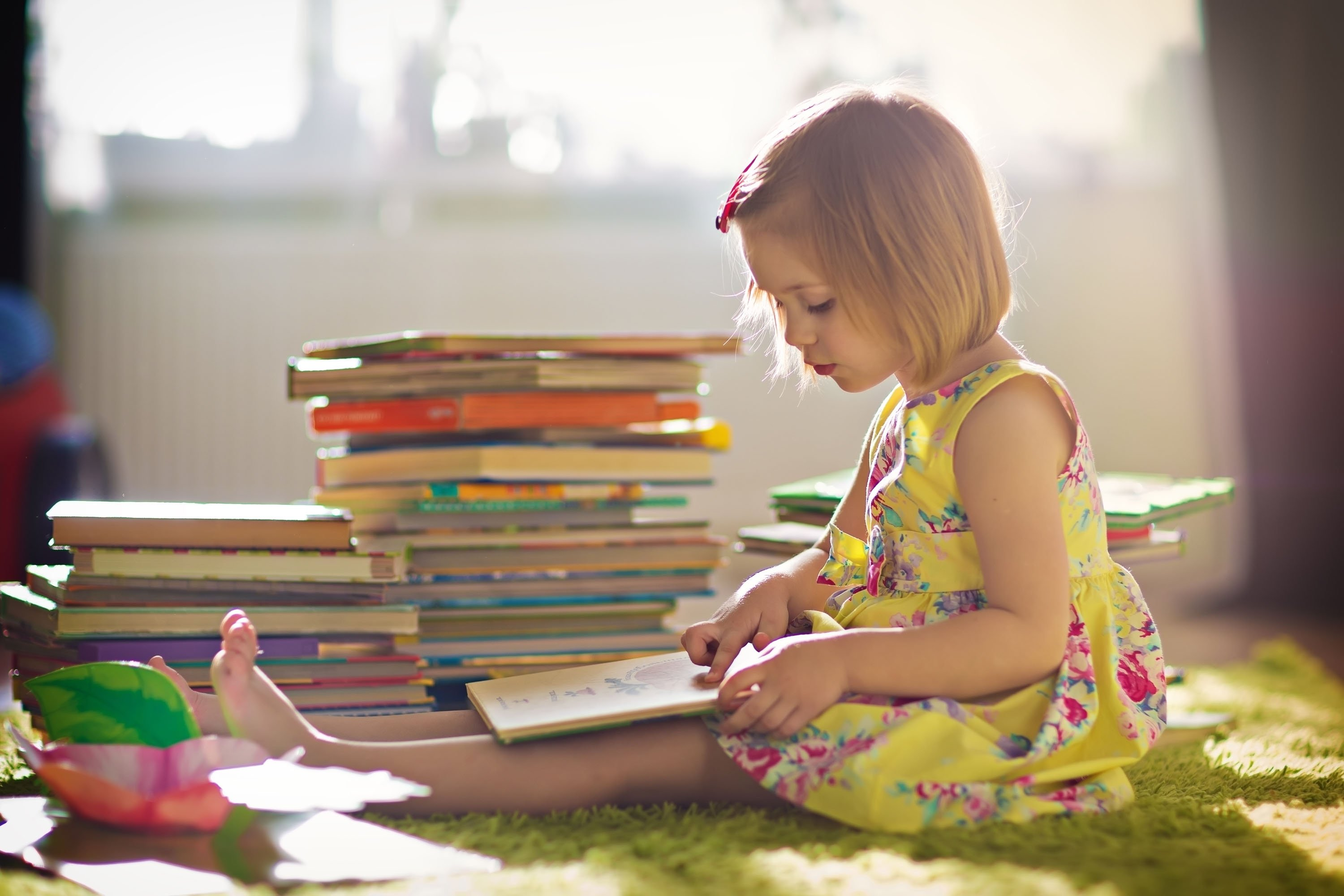 Show your child how to get excited about reading