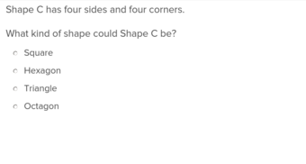 3rd grade Math Exercises: Classifying Shapes