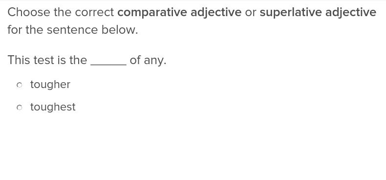 Comparative and Superlative Adjectives – Comparative and Superlative Adverbs Worksheets