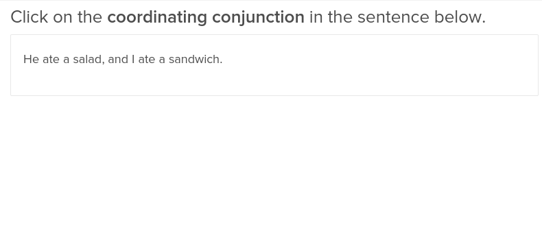 Coordinating and Subordinating Conjunctions 1