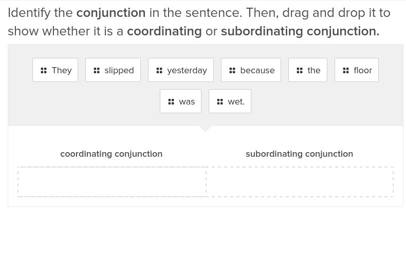 Coordinating and Subordinating Conjunctions 2
