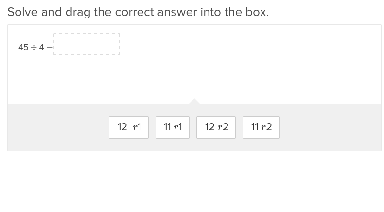 4th grade Math Exercises: Division with Remainders