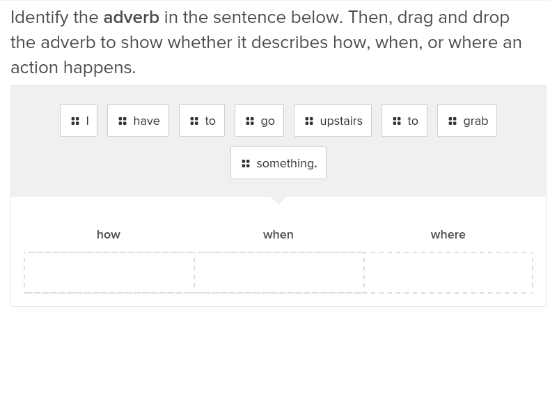 How, When, and Where Adverbs 2