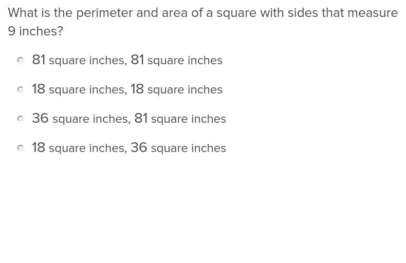 Perimeter and Addition