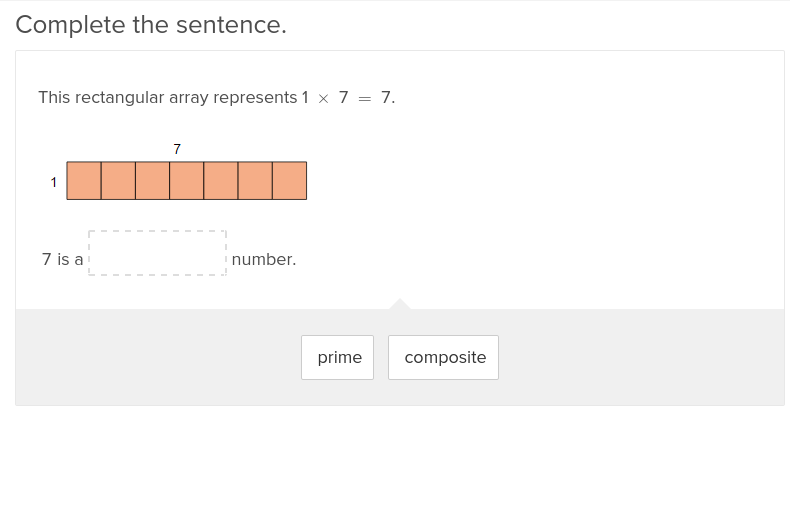 Find the Factors of Prime and Composite Numbers