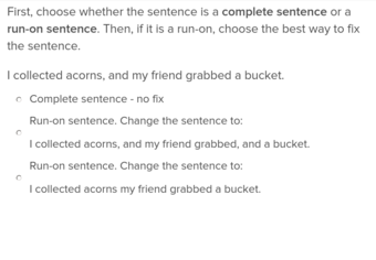Run-on Sentences | Education.com