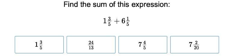Addition and Subtraction of Mixed Numbers
