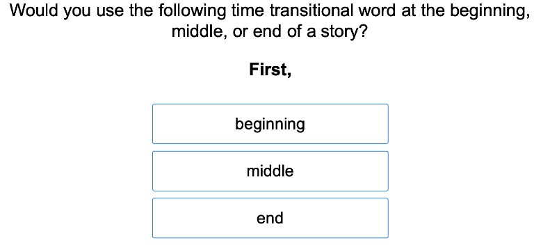 Comma After Transition Words for Passage of Time 3