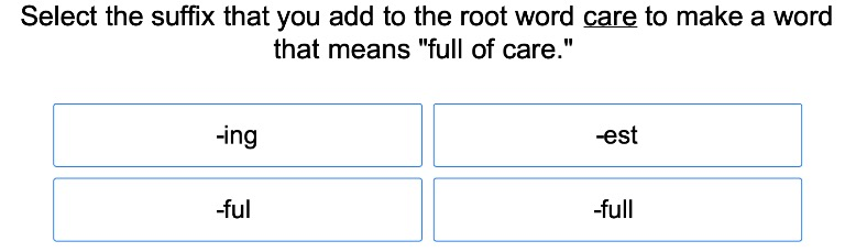 Common Suffixes 2