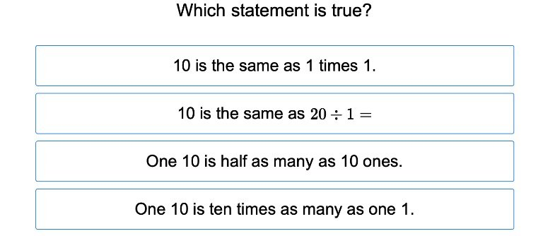 4th grade Math Exercises: Place Value and Multiplicative Comparisons