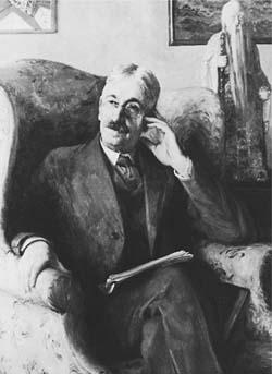 Portrait of John Dewey.