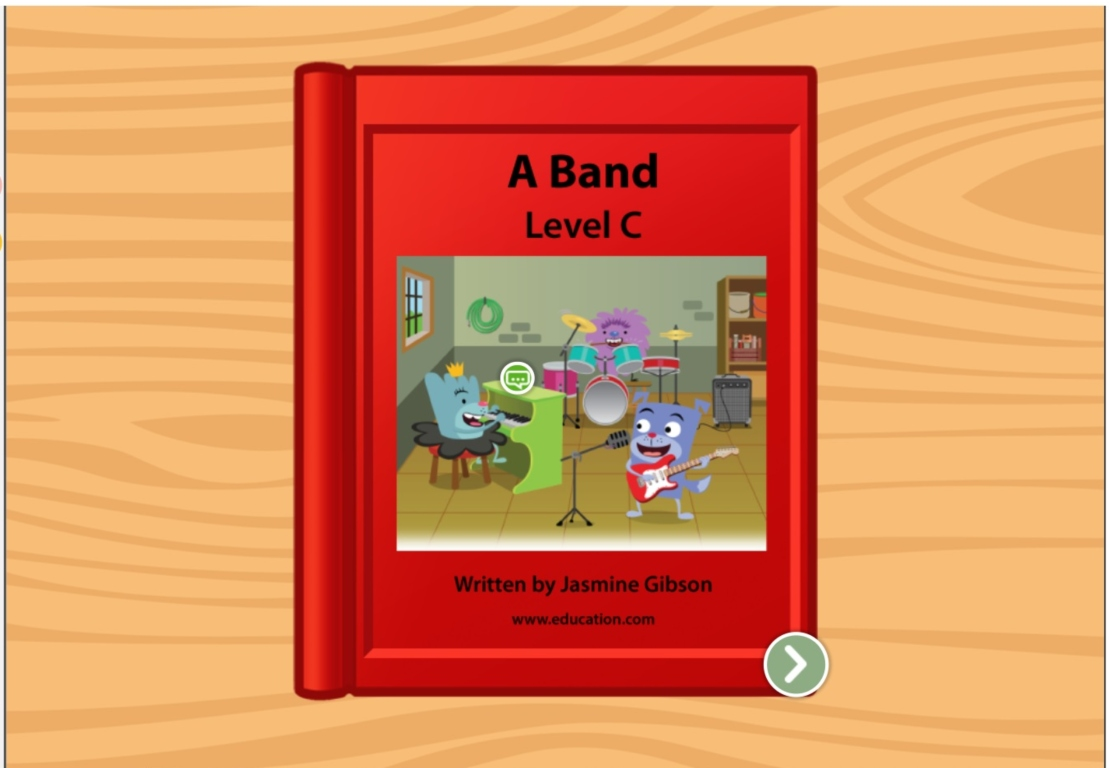 Kindergarten Reading & Writing Stories: A Band: Level C