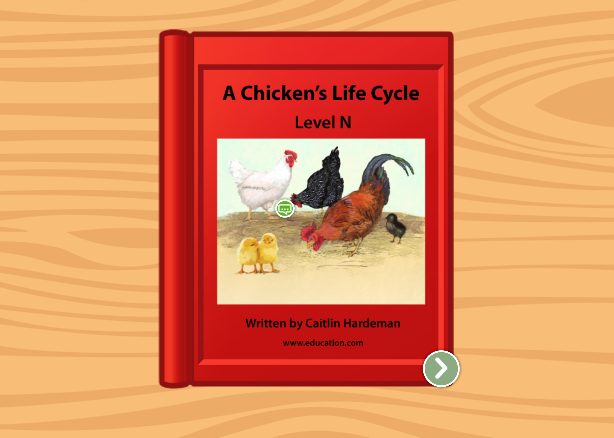 2nd grade Reading & Writing Stories: A Chicken's Life Cycle: Level N