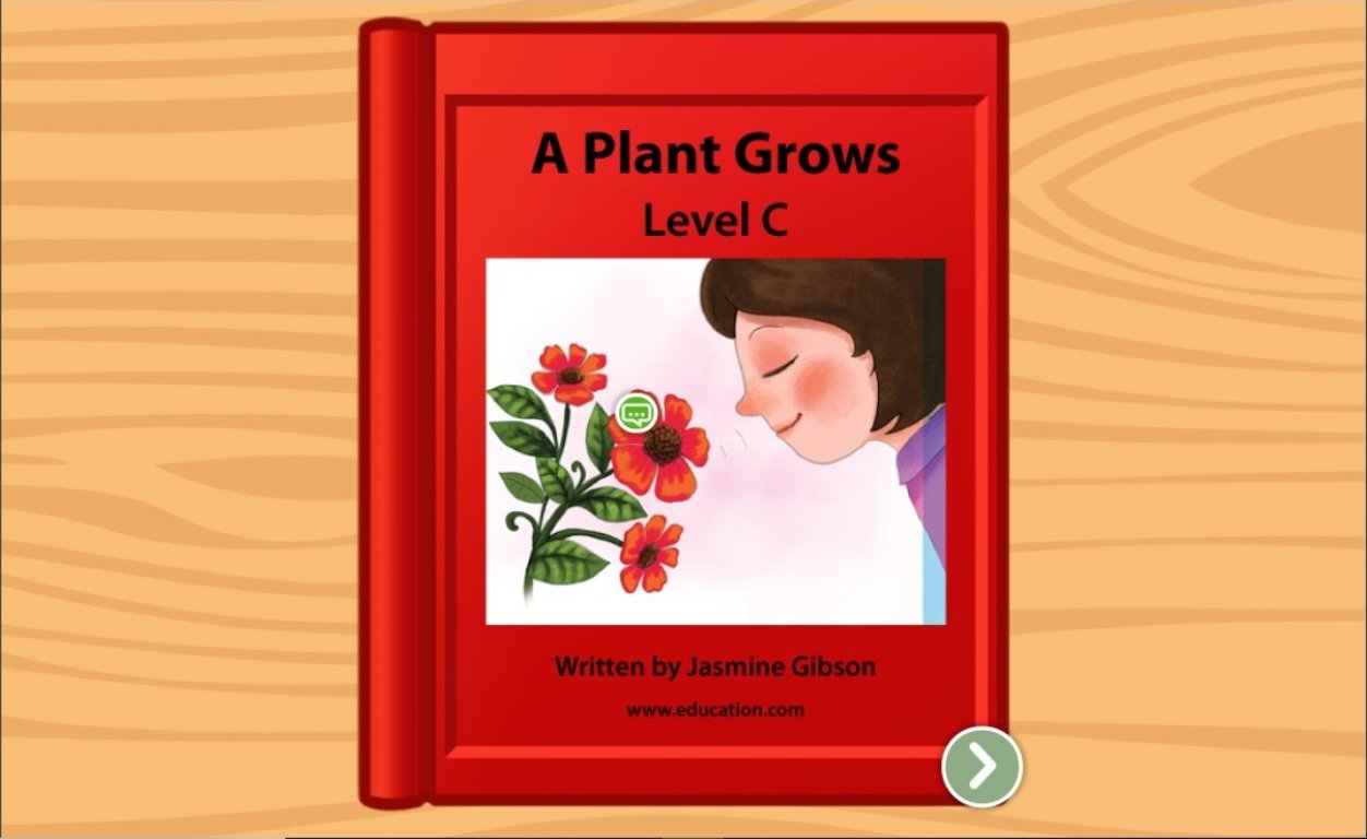 kindergarten Reading & Writing Stories: A Plant Grows: Level C