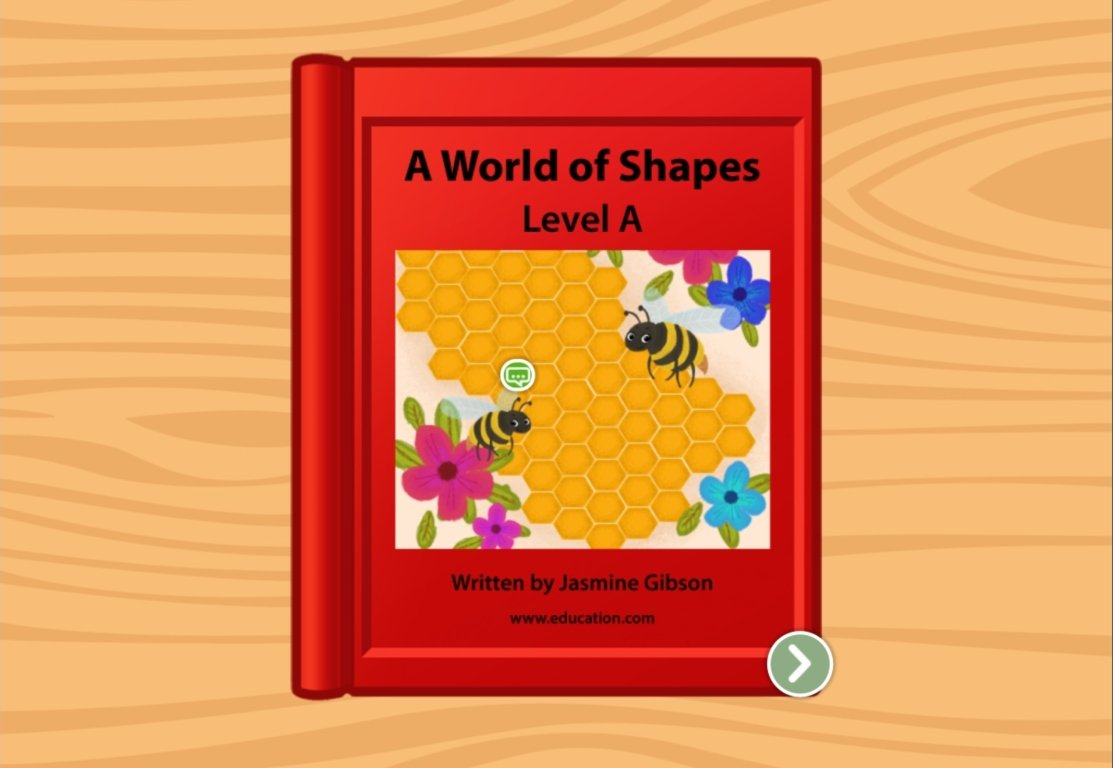 Preschool Reading & Writing Stories: A World of Shapes: Level A