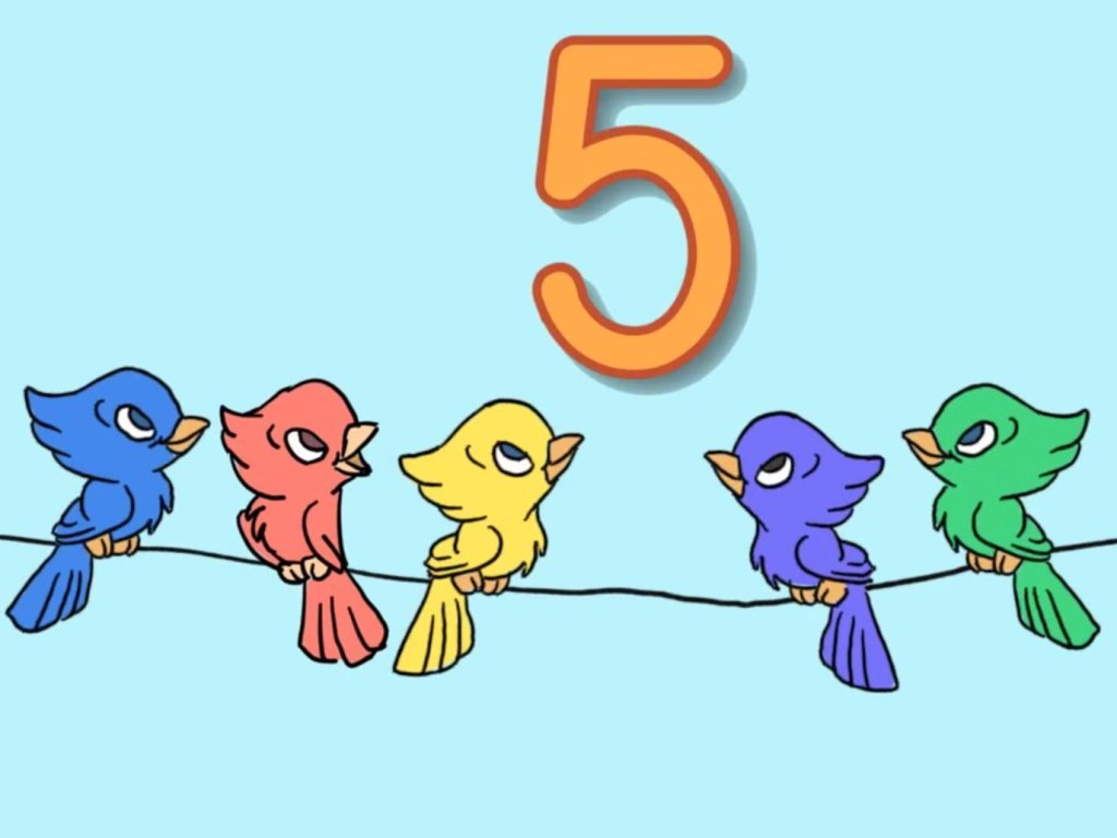 Preschool Math Songs: Bird Addition to 5 Song