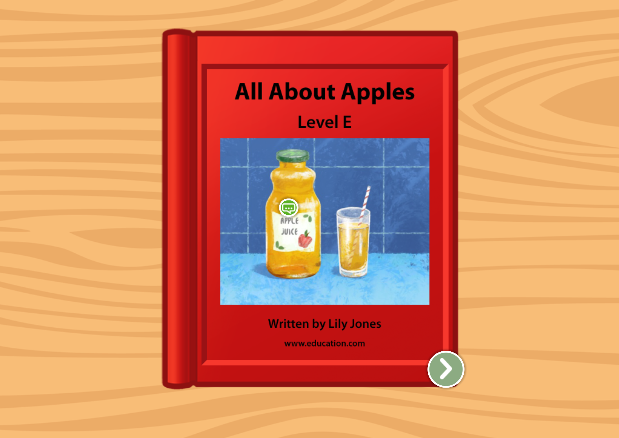 1st grade Reading & Writing Stories: All About Apples: Level E