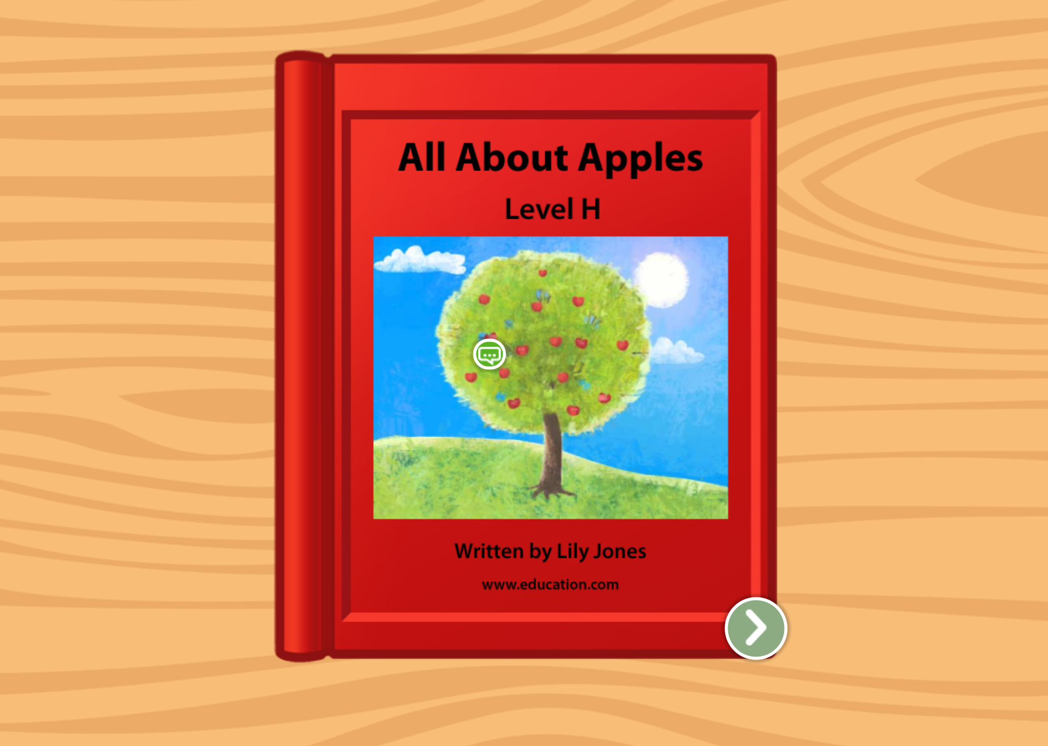 1st grade Reading & Writing Stories: All About Apples: Level H
