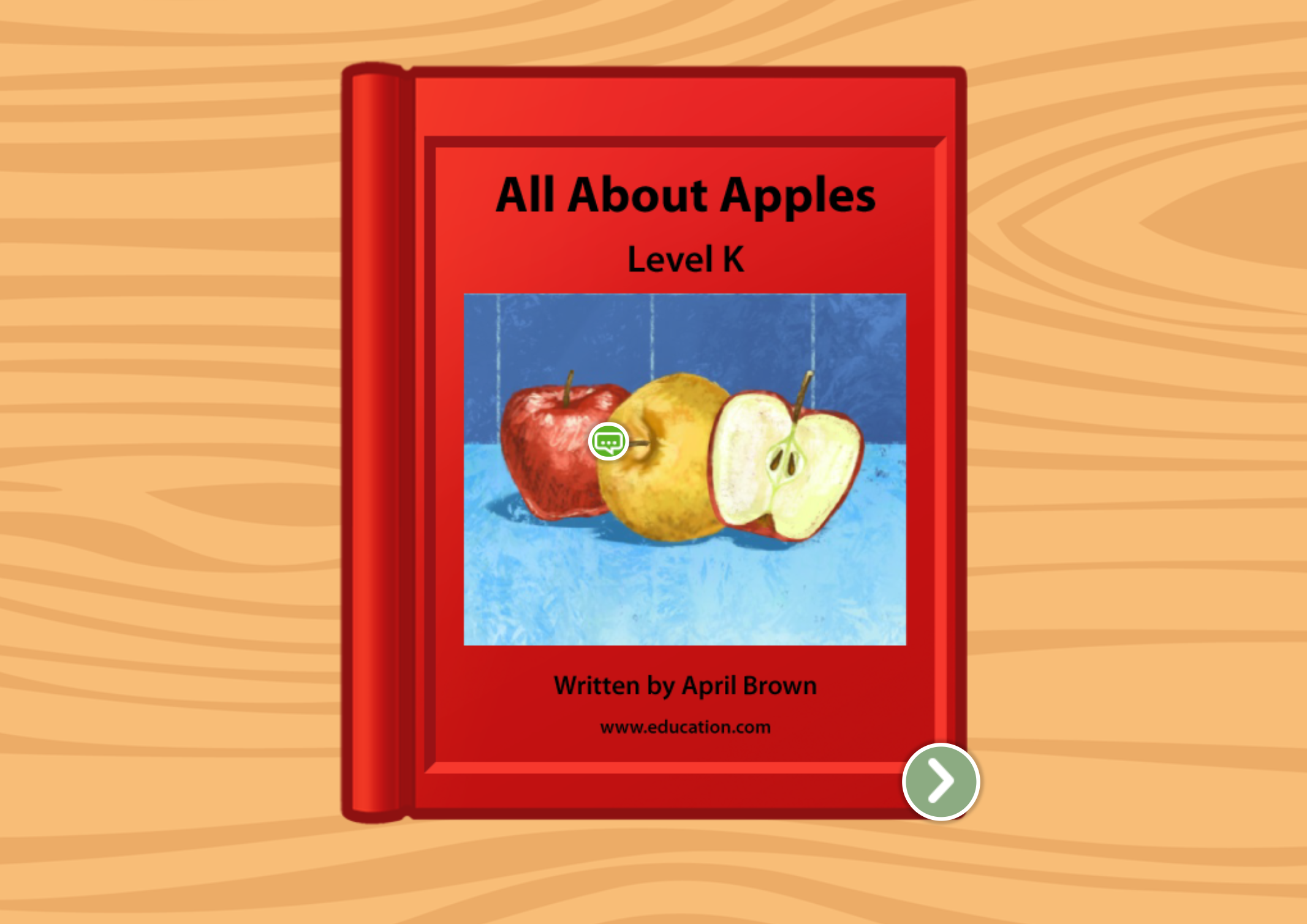 2nd grade Reading & Writing Stories: All About Apples: Level K