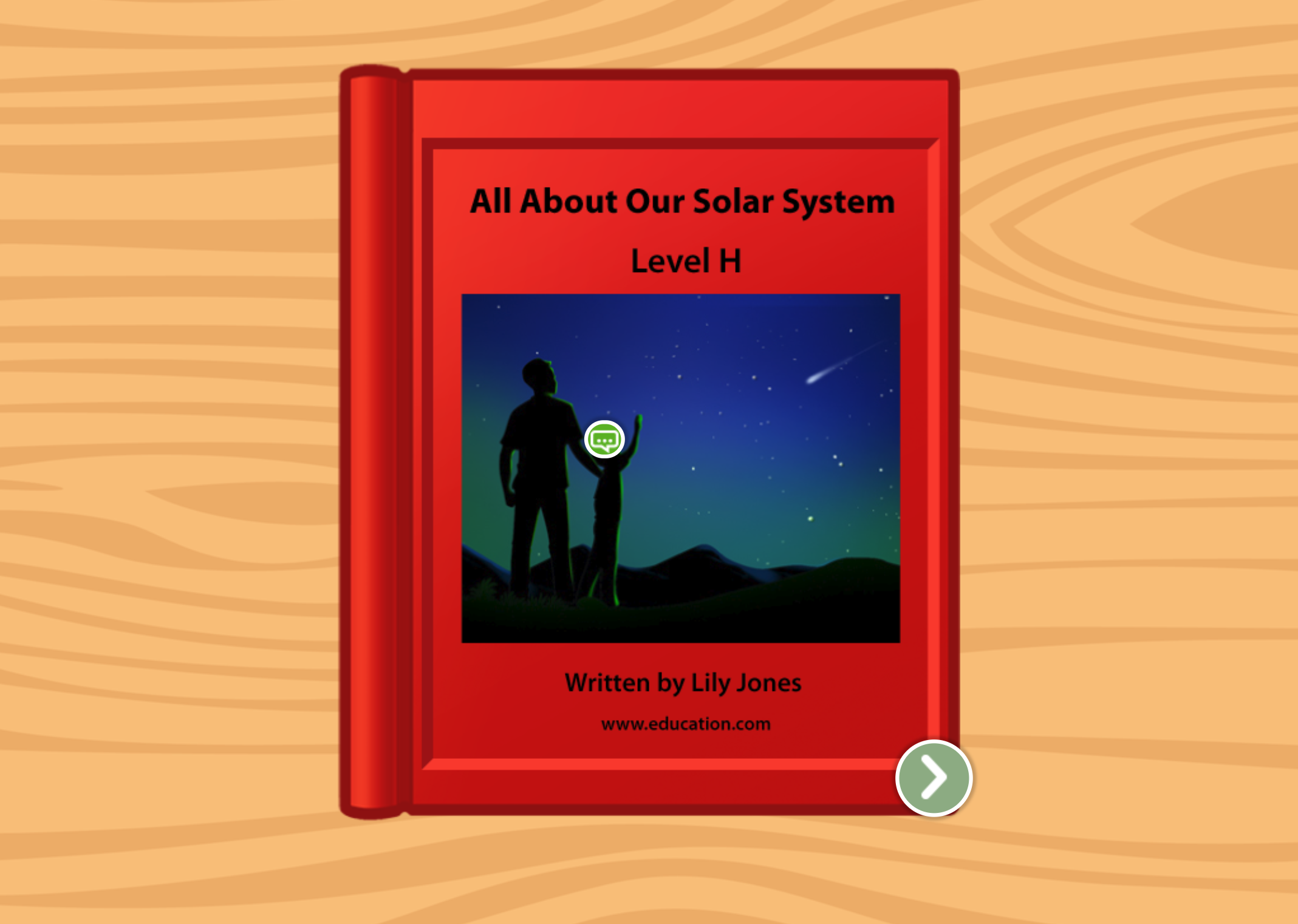 1st grade Reading & Writing Stories: All About Our Solar System: Level H