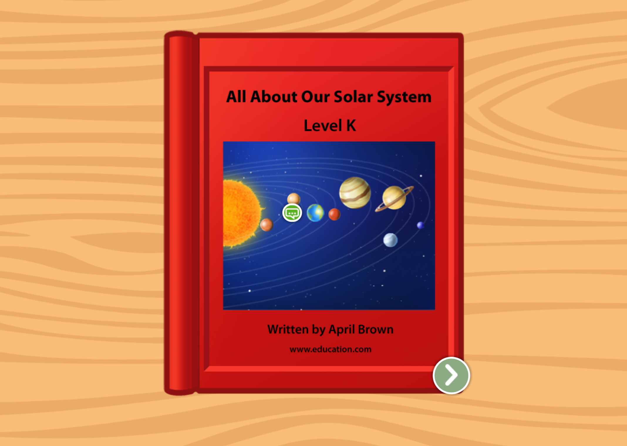 2nd grade Reading & Writing Stories: All About Our Solar System: Level K